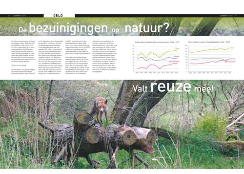 bezuinigingen op natuur